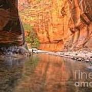 Zion Narrows Bend Poster
