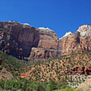 Zion National Park 3 Poster