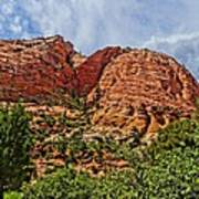 Zion National Park In Summer Poster