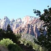 Zion Park Majestic View Poster