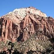 Zion Park Mountainscape Poster