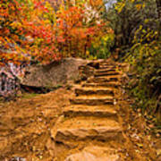 Zion Staircase Poster