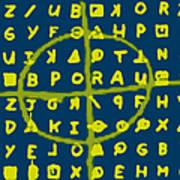 Zodiac Killer Code And Sign 20130213p68 Poster by Wingsdomain Art and Photography