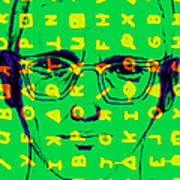 Zodiac Killer With Code And Sign 20130213 Poster by Wingsdomain Art and Photography