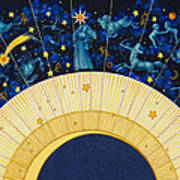Zodiac Moon Poster
