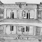 Zoroastrian Temple Poster