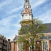 Zuiderkerk In Amsterdam Poster