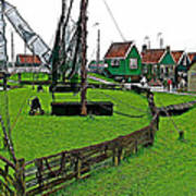 Zuiderzee Open Air Musuem In Enkhuizen-netherlands Poster