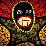 Zulu Man In Lomo Poster
