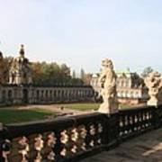 Zwinger Courtyard  Dresden  Poster