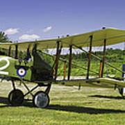 1916 Royal Aircraft F.e.8 World War One Airplane Photo Poster Print Poster