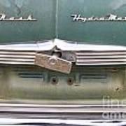1951 Nash Ambassador Hydramatic Back Poster