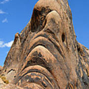 Alabama Hills Monster Poster