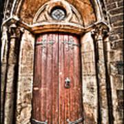 Bronze - Old Door Poster