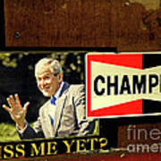 Champ Not Villain Poster by Joe Jake Pratt