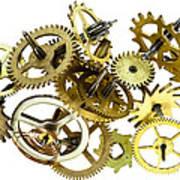 Clockwork Mechanism Poster