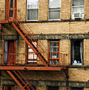 Fire Escapes - Nyc Poster