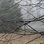 Fog Hangs Heavy Poster