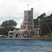 Island Castle Poster