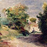 Landscape Near Cagnes Poster