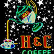 Out Of This World Coffee Poster