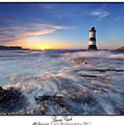 Penmon Point Lighthouse Poster