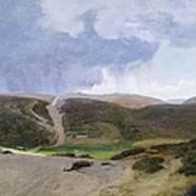 Scandinavian Landscape  Poster