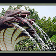 Water Fountain Poster