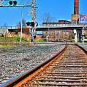 0001 Train Tracks Poster