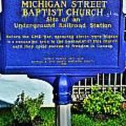 0002 Buffalo Ny History Poster