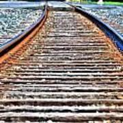 0002 Train Tracks Poster