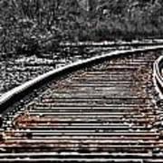 0003 Train Tracks Poster