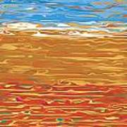 0145 Abstract Landscape Poster