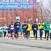 017 Shamrock Run Series Poster