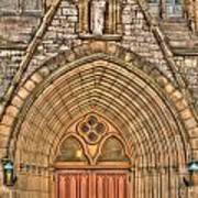 02 Church Doors Poster