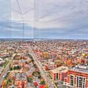 031 Series Of Buffalo Ny Via Birds Eye West Side Poster
