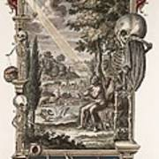 1731 Johann Scheuchzer Creation Of Man Poster