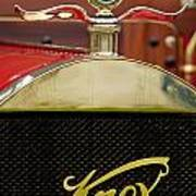 1909 Knox Open Touring Hood Ornament Poster