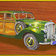 1947 Bentley Shooting Brake Poster by Jack Pumphrey