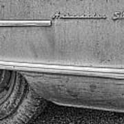 1951 Nash Ambassador Side Logo Poster