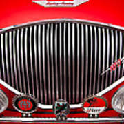 1955 Austin Healey 100-4 Poster