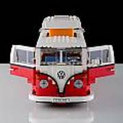1962 Vw Lego Bus Poster