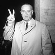 1964 Presidential Election. Lyndon Poster