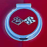 1967 Chevrolet Corvette Emblem Poster