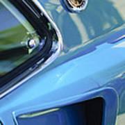1969 Ford Mustang Mach 1 Emblem 2 Poster by Jill Reger