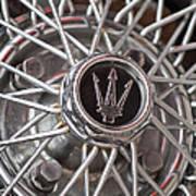 1972 Maserati Ghibli 4.9 Ss Spyder Wheel Poster