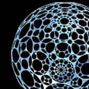 Abstract Sphere, Artwork Poster