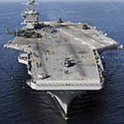 Aircraft Carrier Uss Carl Vinson Poster