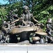 Alice In Wonderland In Central Park Poster