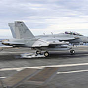 An Ea-18g Growler Makes An Arrested Poster